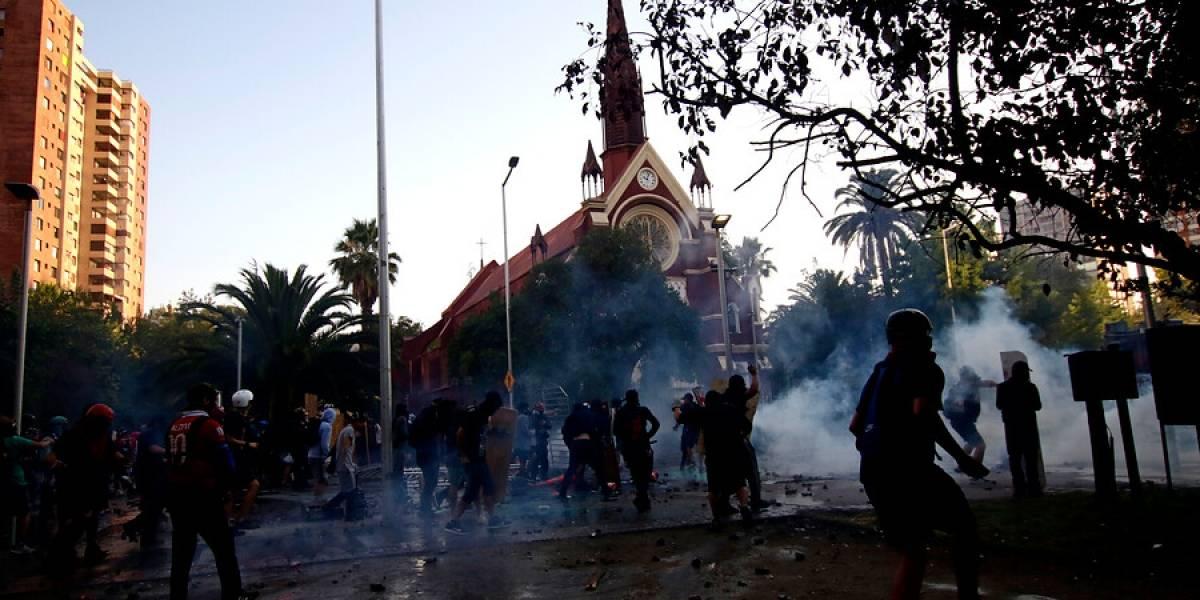 Fiscalía pide 14 años de cárcel para imputado por incendio de iglesia de Carabineros
