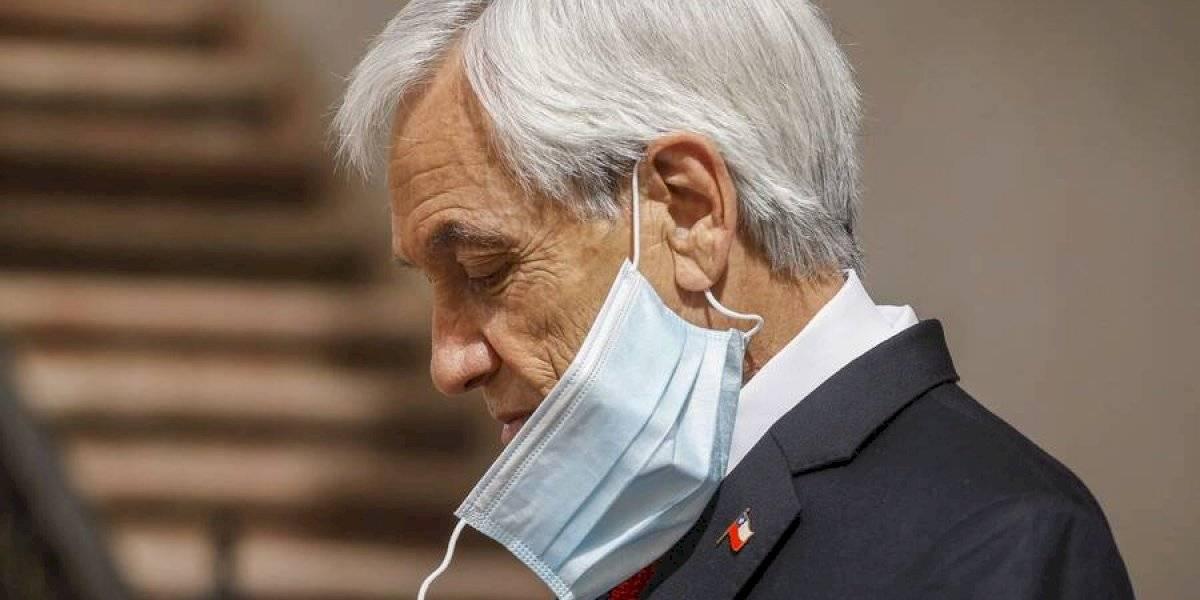 Sebastián Piñera fue multado por no usar mascarilla: tendrá que pagar $2,5 millones