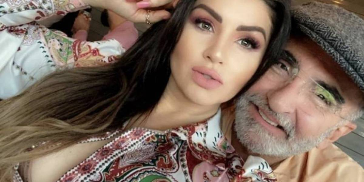 Vicente Fernández Jr. y Anel Noreña tuvieron un cruce de palabras por la novia del hijo del cantante