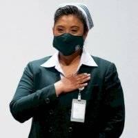 """Jefa Fabiana pide """"de corazón"""" a la población quedarse en casa"""