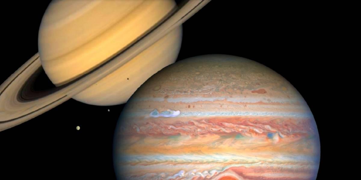 Consejos para ver la gran conjunción de Júpiter y Saturno