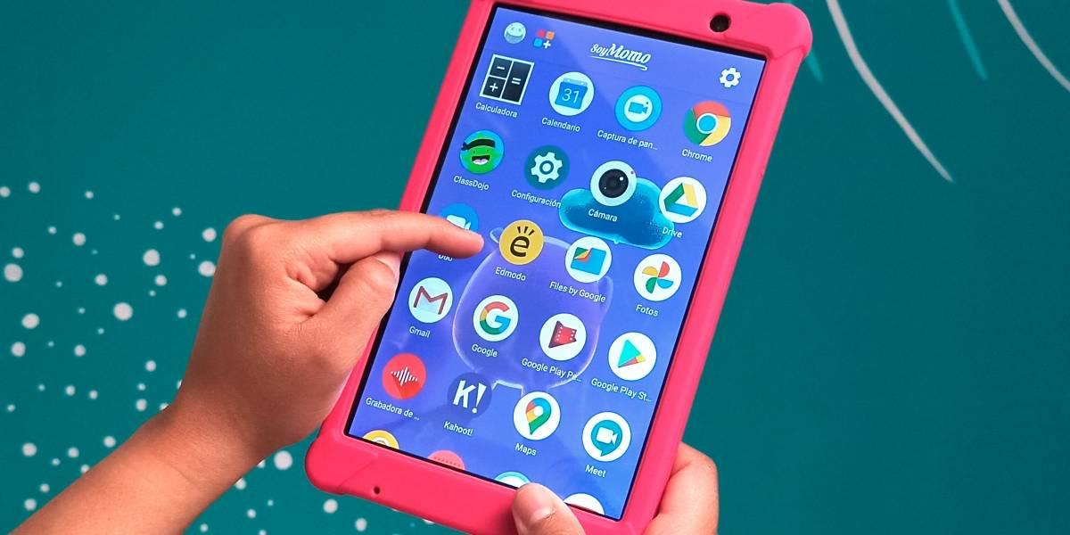 SoyMomo, la tablet que protege a los niños de lo malo de la web