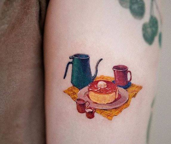 Tatuajes de comida