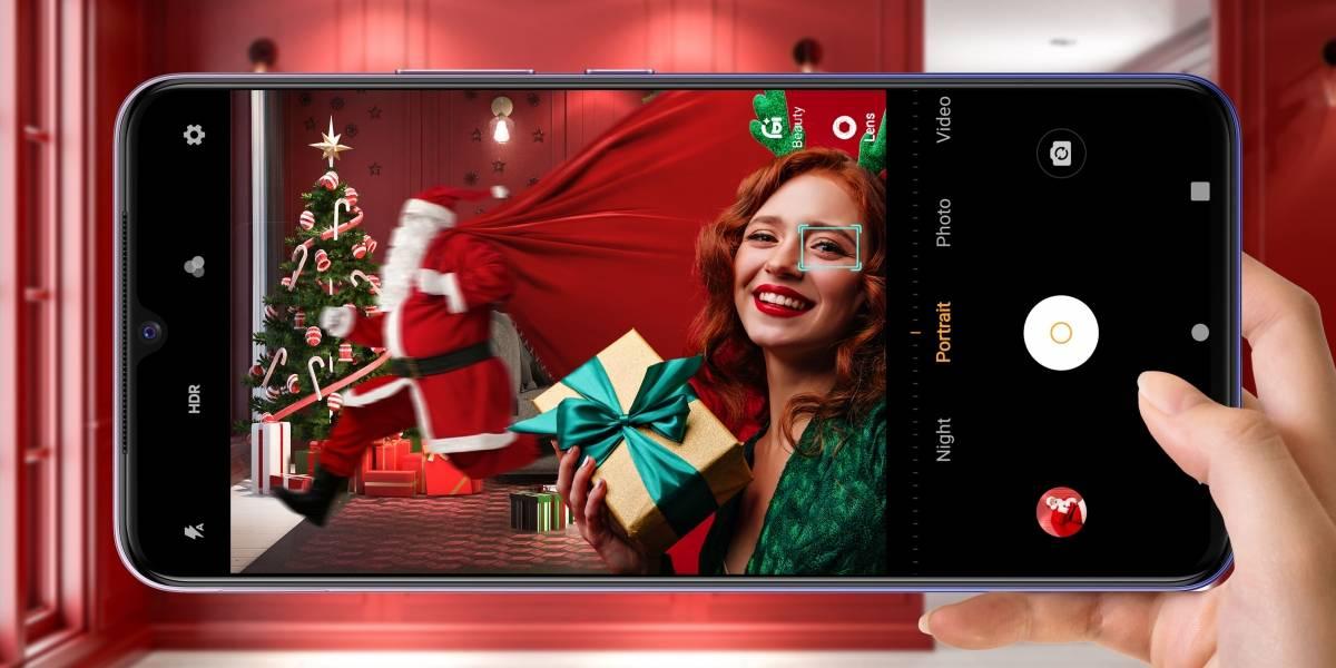 Viejito Pascuero tecnológico: vivo te propone teléfonos y accesorios para una Navidad Digital