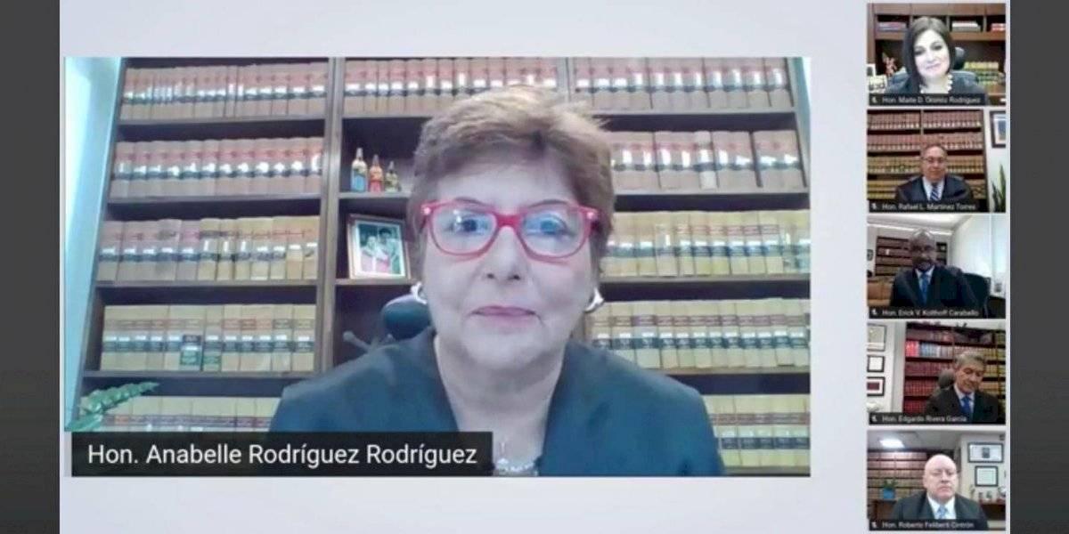 """Jueza asociada Anabelle Rodríguez: """"Me queda la tranquilidad de haber decidido en conciencia y en justicia"""""""