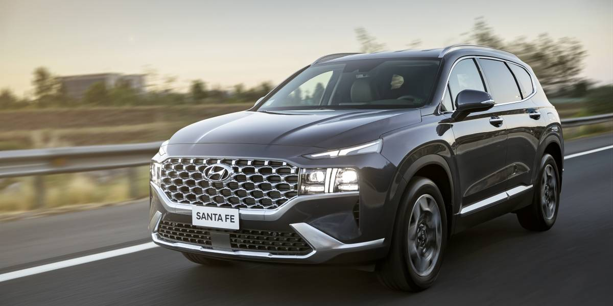 Hyundai presenta el facelift del Santa Fe