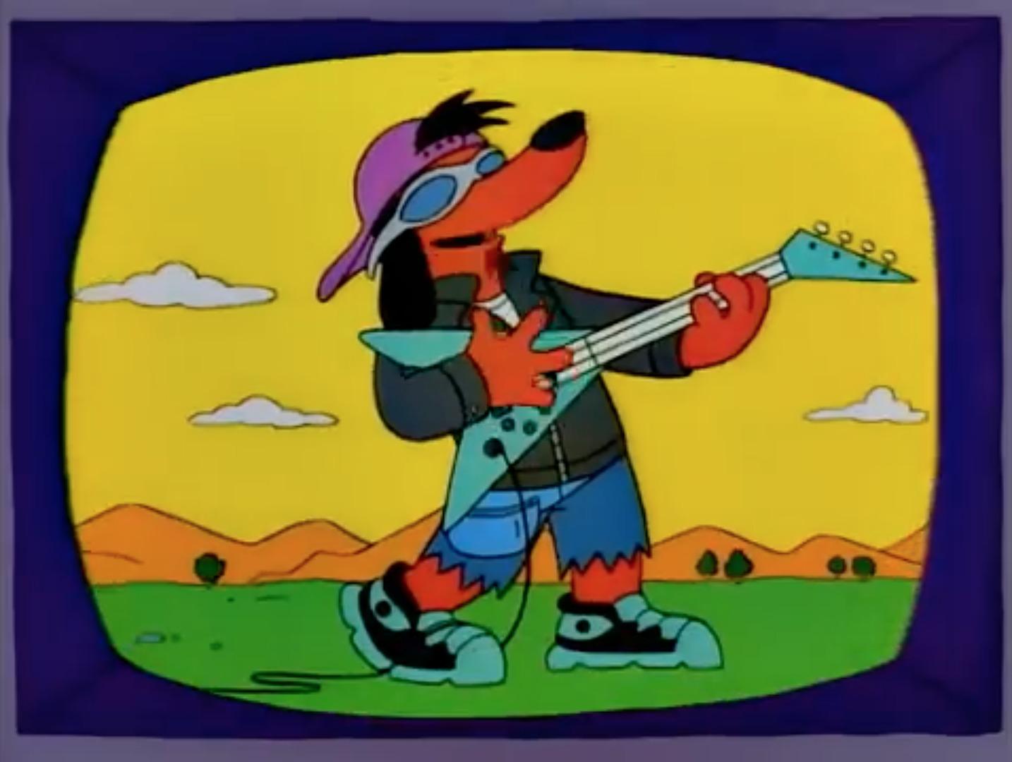 Los Simpson Poochie