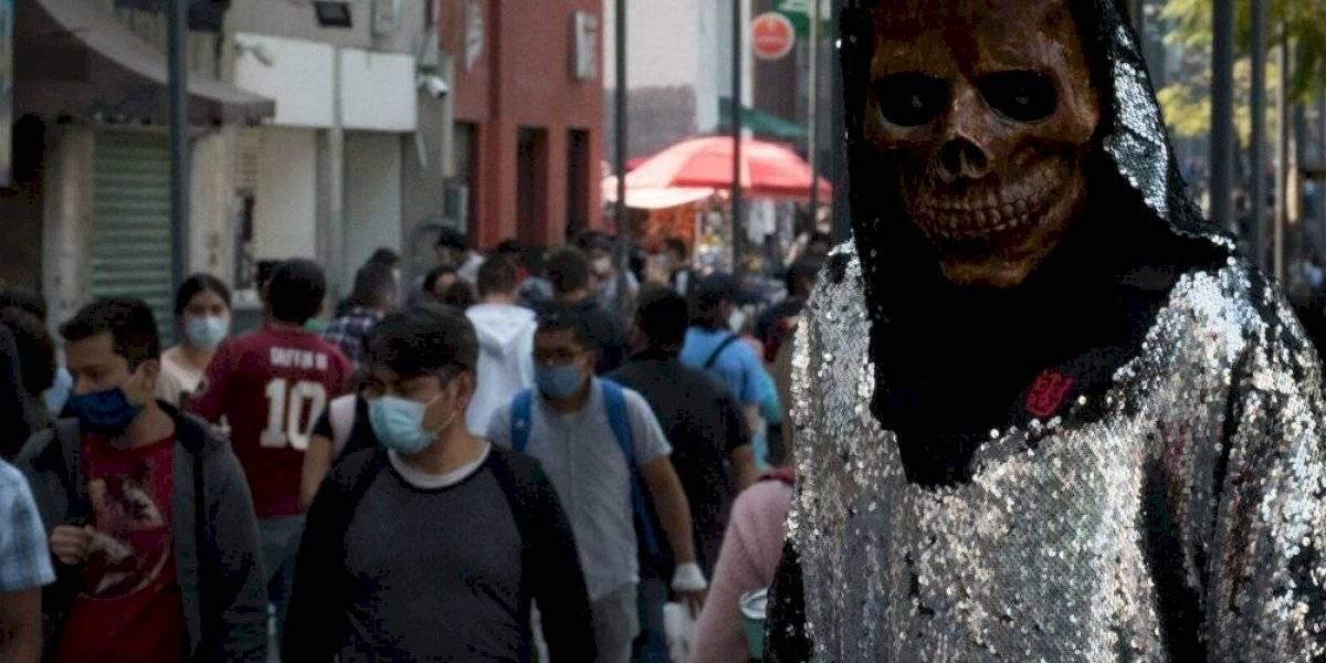 Muertes por Covid-19 en México superan las 117 mil 800; hay un millón 313,675 casos acumulados