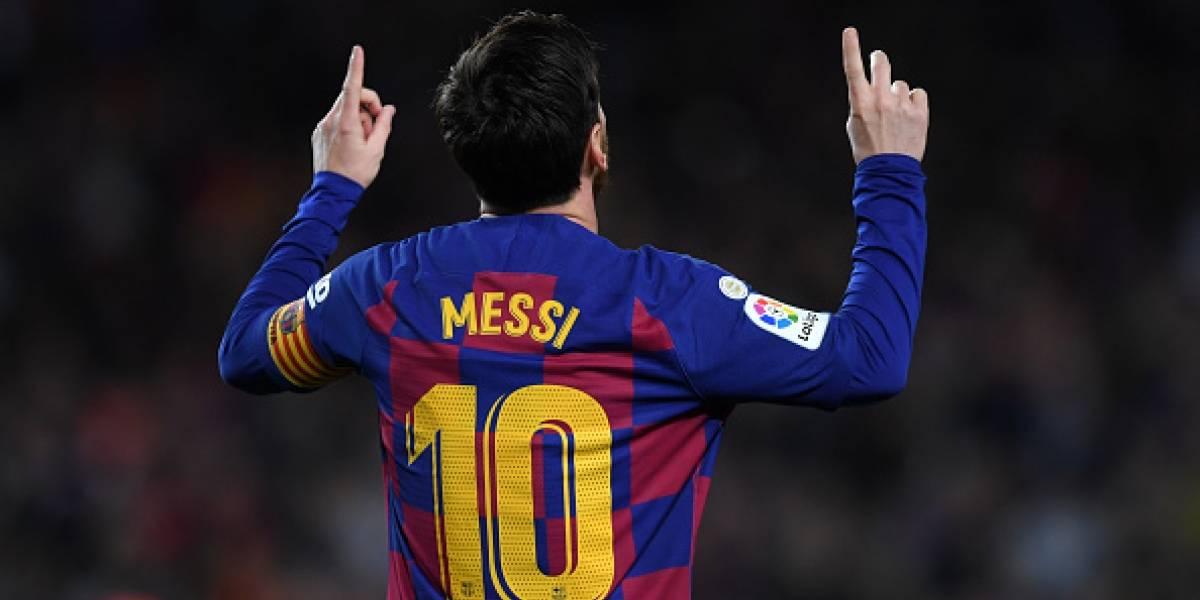 Messi anotó e igualó un récord de Pelé que parecía inalcanzable