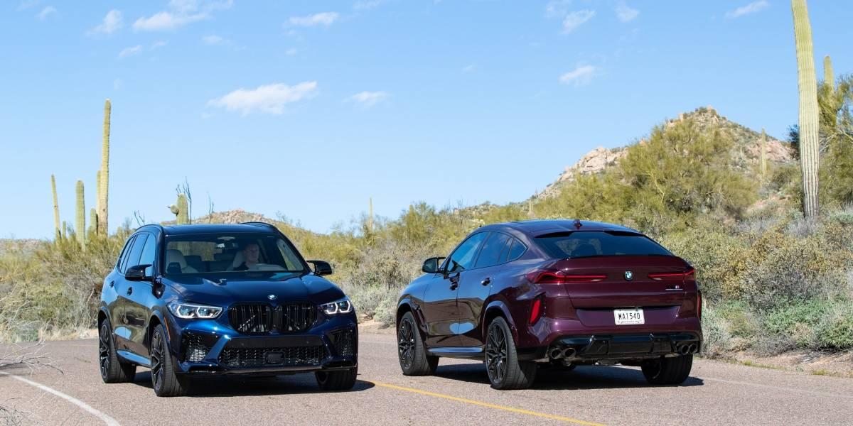 BMW apunta a los amantes de la velocidad con los nuevos X5 y X6 M Competition