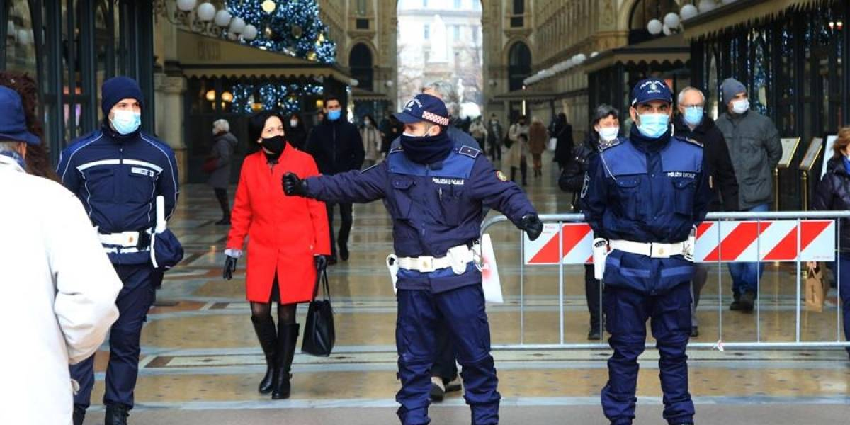 Detectan en Italia un contagio nueva cepa de coronavirus de Reino Unido