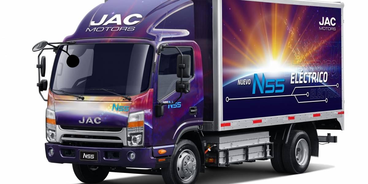 JAC Motors ingresó al segmento de los camiones eléctricos