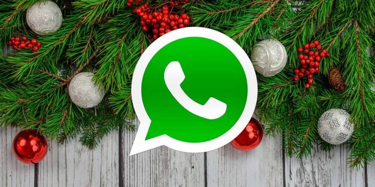 WhatsApp: Con este truco puedes agregarle al ícono de la aplicación un gorrito de navidad
