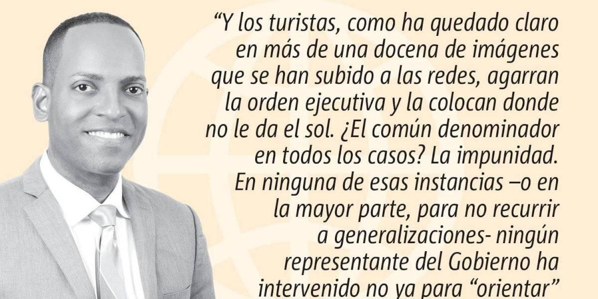 Opinión de Julio Rivera Saniel: Y a los turistas, ¿Cuándo los multamos?
