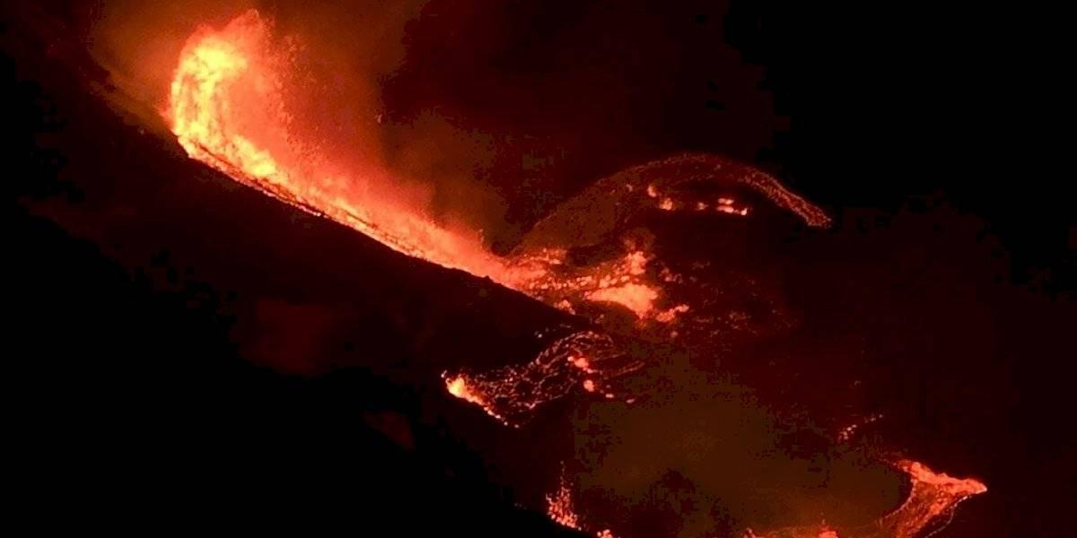 Entra en erupción el volcán Kilauea de Hawai