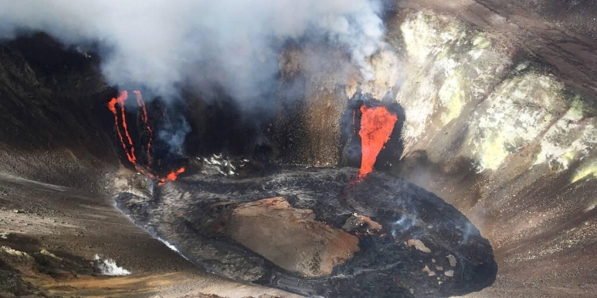 Volcán Kilauea de Hawai continúa en erupción
