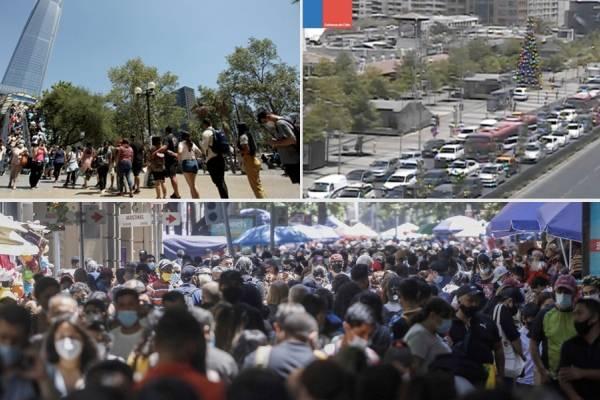 Costanera Center y Paseo Ahumada: miles de santiaguinos llenan los centros comerciales antes de Navidad