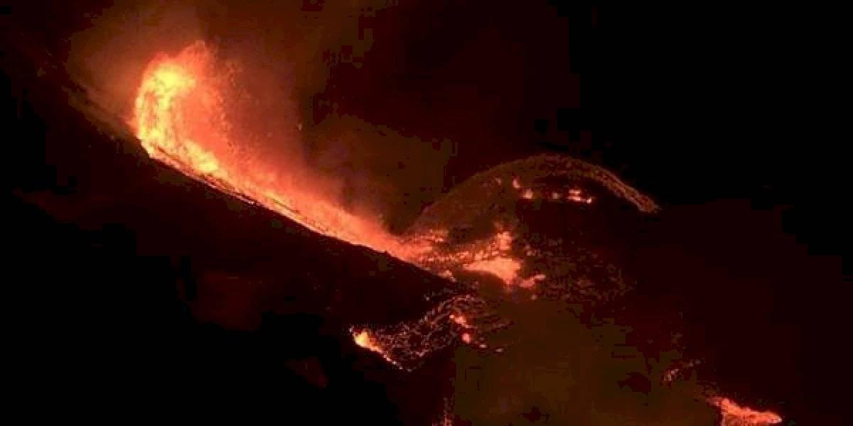 Volcán Kilauea entra en erupción: las impactantes imágenes y videos