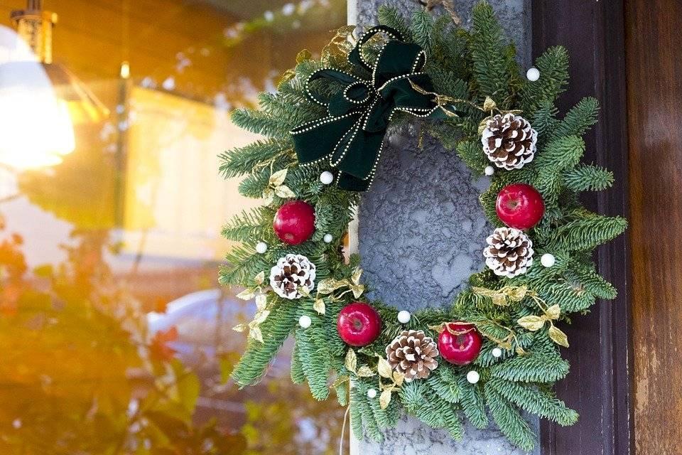 Las guirnaldas son una parte muy importante en la decoración de la Navidad.