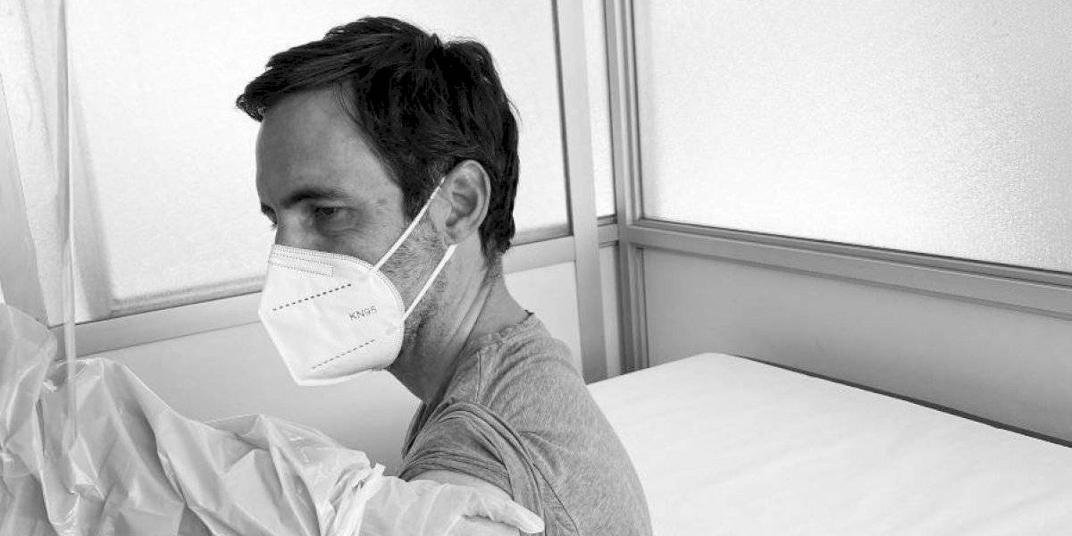 """Daniel Matamala relata su experiencia como voluntario de la vacuna de Oxford y AstraZeneca: """"Este es un esfuerzo gigantesco"""""""