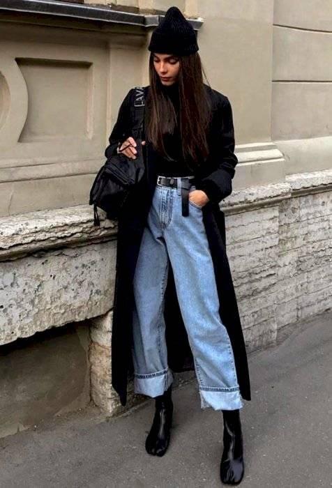 cómo vestir oversize moda