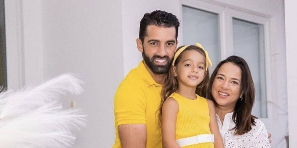 Sorprende el parecido de la hija de Adamari López con la hermana de Toni Costa