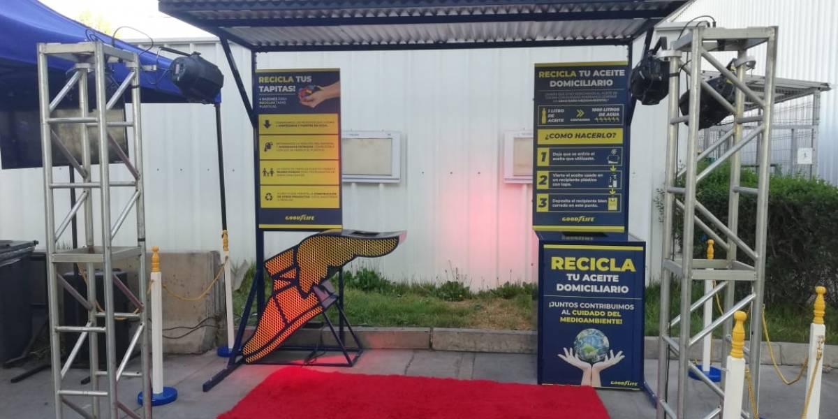 Goodyear estrena punto de reciclaje en su planta de Maipú