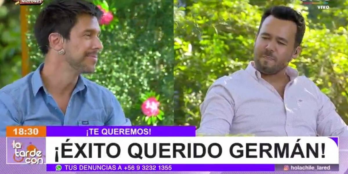 """Germán Schiessler sorprende tras decir adiós a """"Hola Chile"""": """"Fui muy feliz. Fueron tres años y medio"""""""