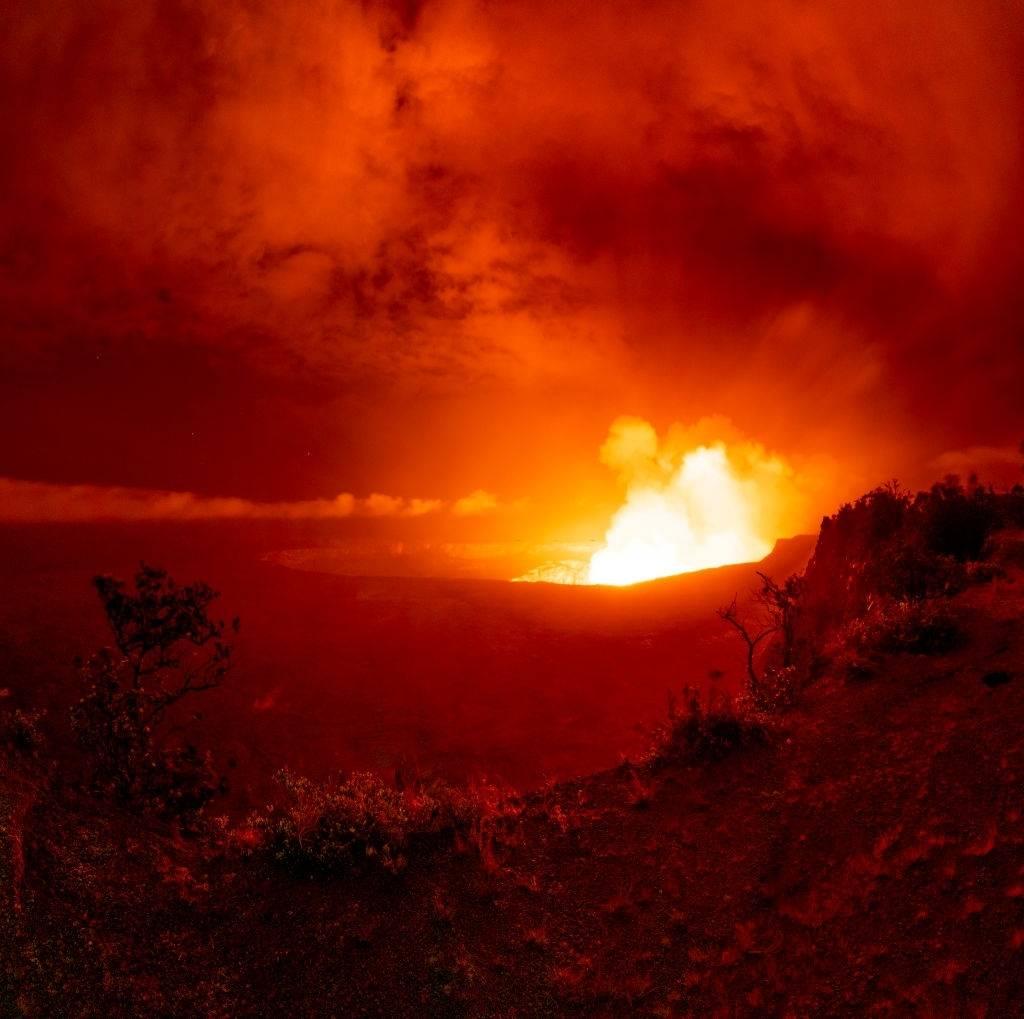 Volcán Kilauea.