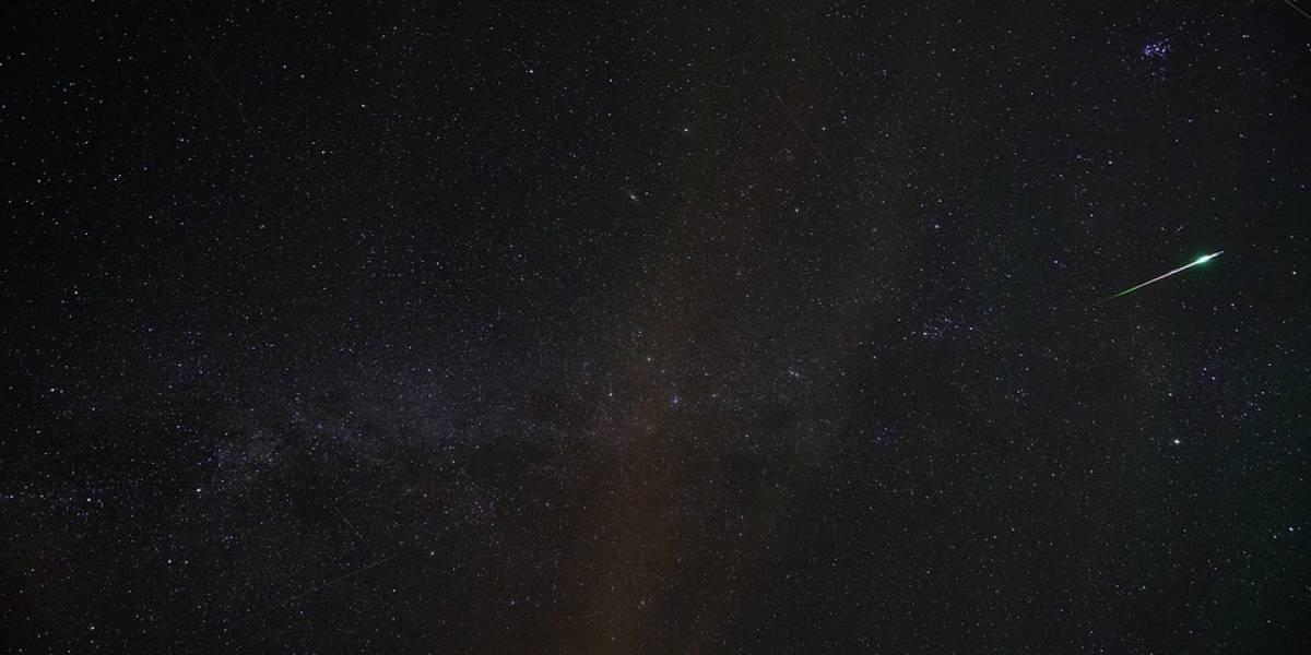 Astronomía: entre cinco y diez meteoritos por hora registra la lluvia Ursid esta noche y durante toda la madrugada