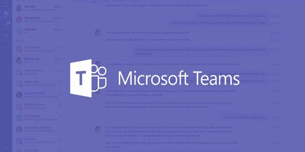 Microsoft: Hasta esta fecha se mantendrá gratis las funciones de Teams