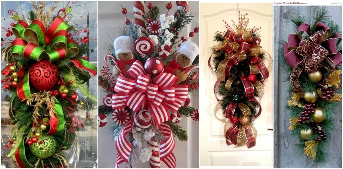 Los moños de Navidad son uno de los elementos más decorativos para celebrar las fiestas