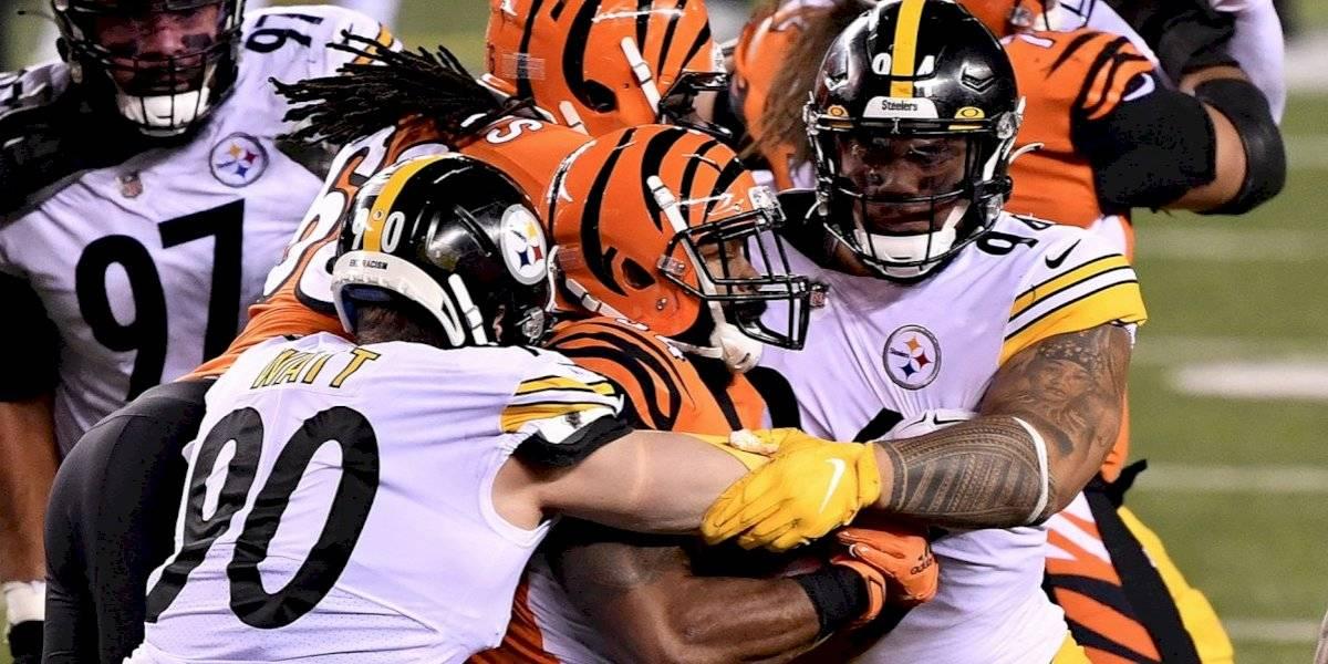 Tercera derrota seguida para los Steelers en la NFL, ahora ante Bengals