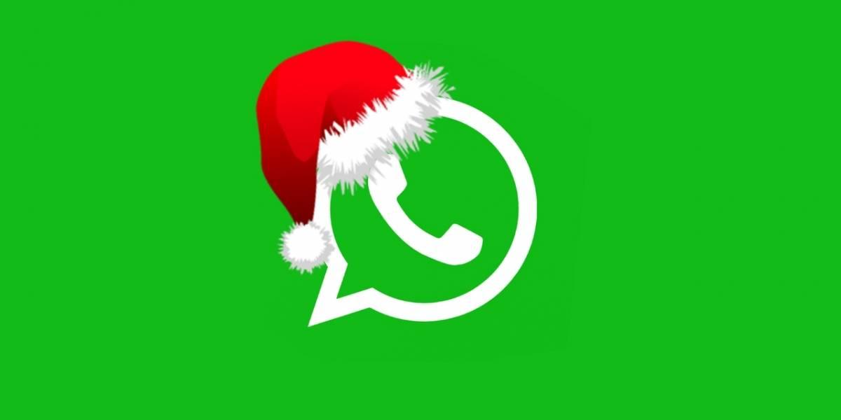 WhatsApp: estos son los mejores stickers para enviar en Navidad