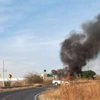 Se desata violencia en zona Laja-Bajío; reportan ataques armados y bloqueos carreteros