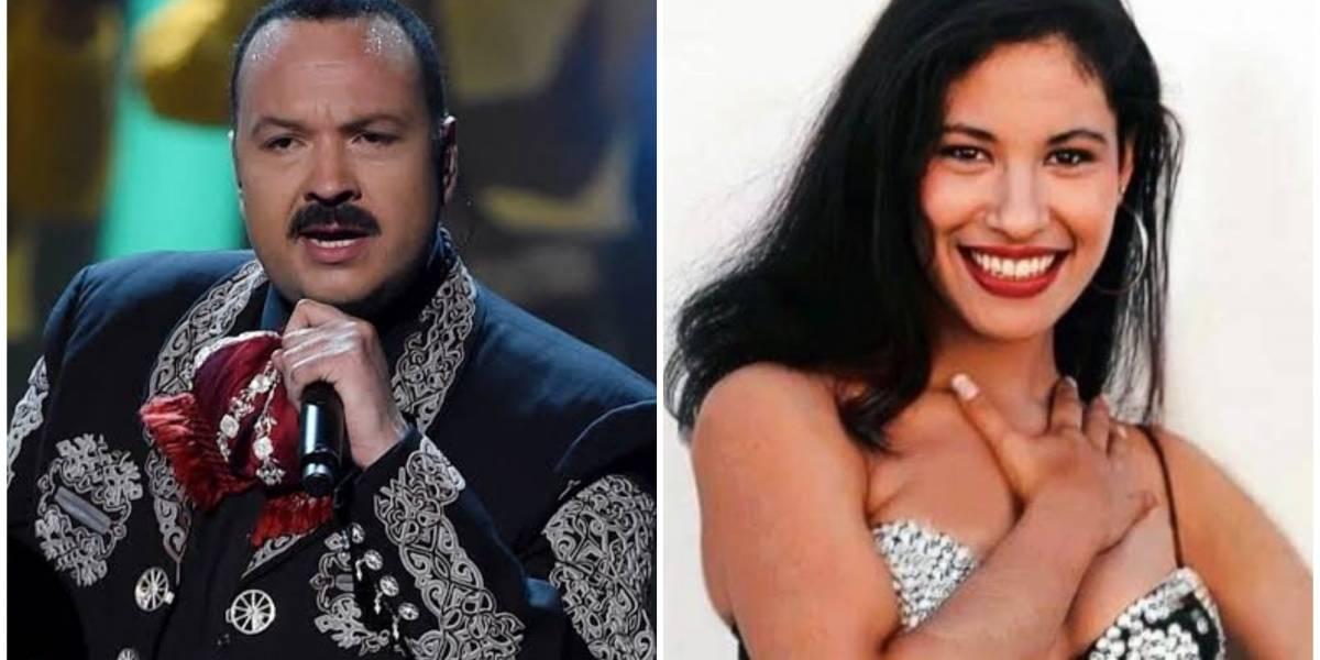 Así fue el día que Pepe Aguilar conoció a Selena Quintanilla