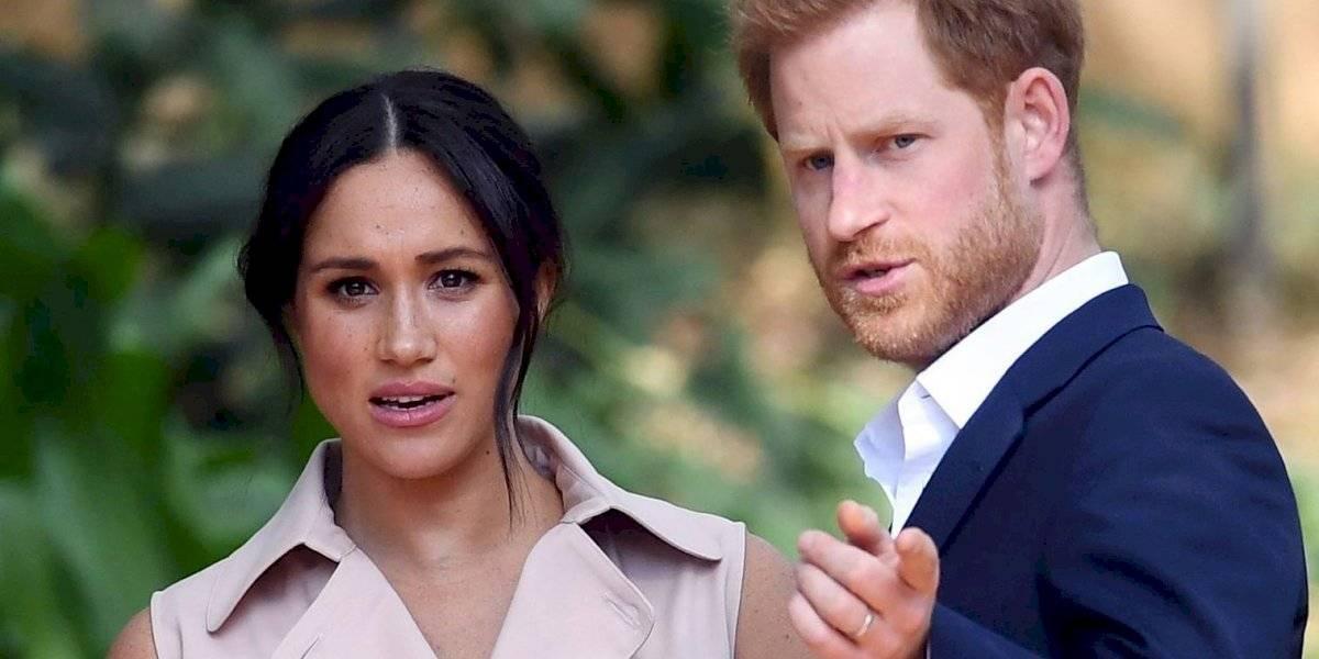 La tierna fotografía de Meghan Markle y el príncipe Harry con la que anunciaron que serán padres por segunda vez