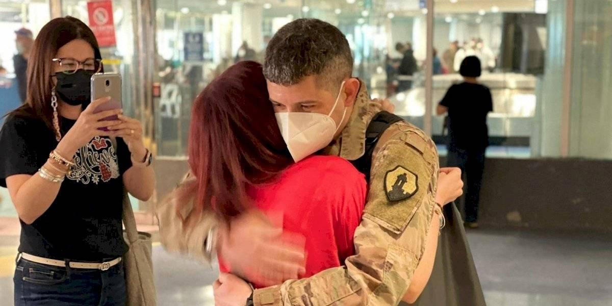 Soldados boricuas regresan a casa tras estar en Afganistán
