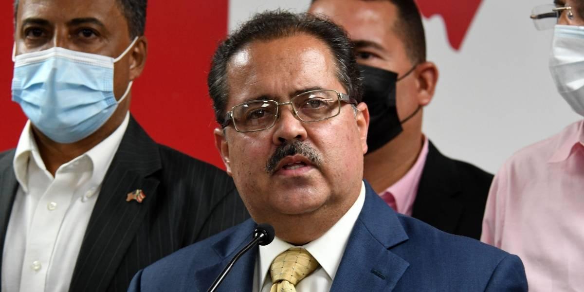 José Luis Dalmau dice Manuel Natal y MVC intentaron negociar votos a favor de su presidencia en el Senado
