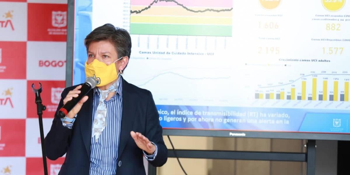 Claudia López sale a justificarse sobre la nueva cepa de covid en Bogotá