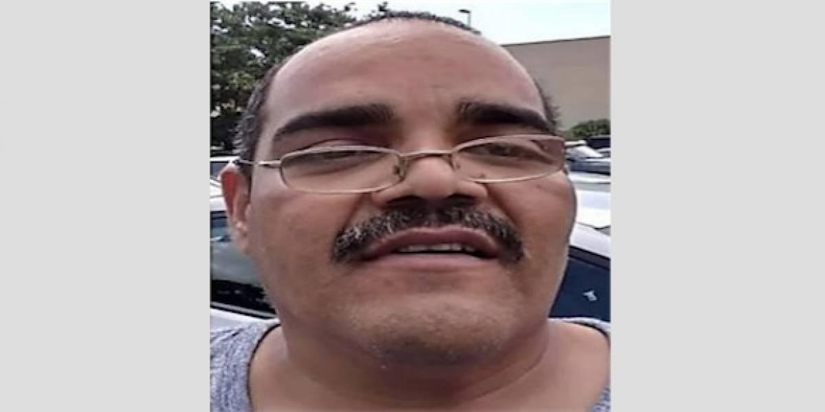 Reportan desaparecido a hombre de 48 años en Carolina