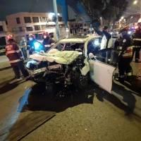 Quito: Accidente en El Pintado entre un vehículo y camión dejó un fallecido