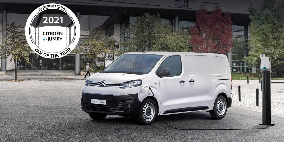 "El Citroën ë-Jumpy recibe el premio ""International Van Of The Year 2021"""