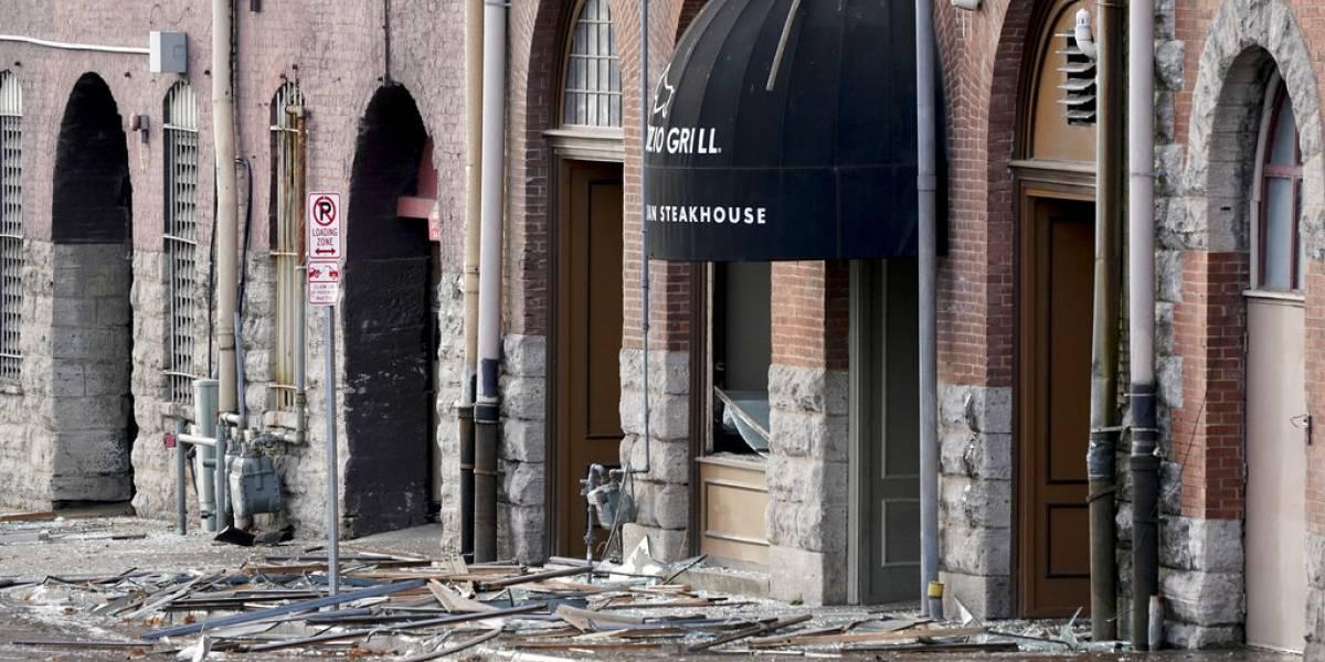 """Policía dice que explosión en Nashville fue un """"acto intencional"""""""