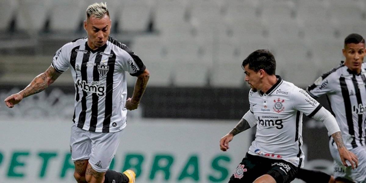 Brasil: Eduardo Vargas dijo presente en victoria del sublíder Atlético Mineiro