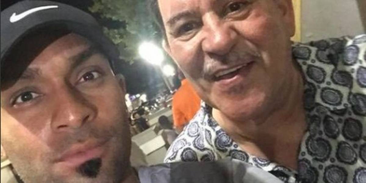 Rey Charlie afectado por la muerte de Tito Rojas