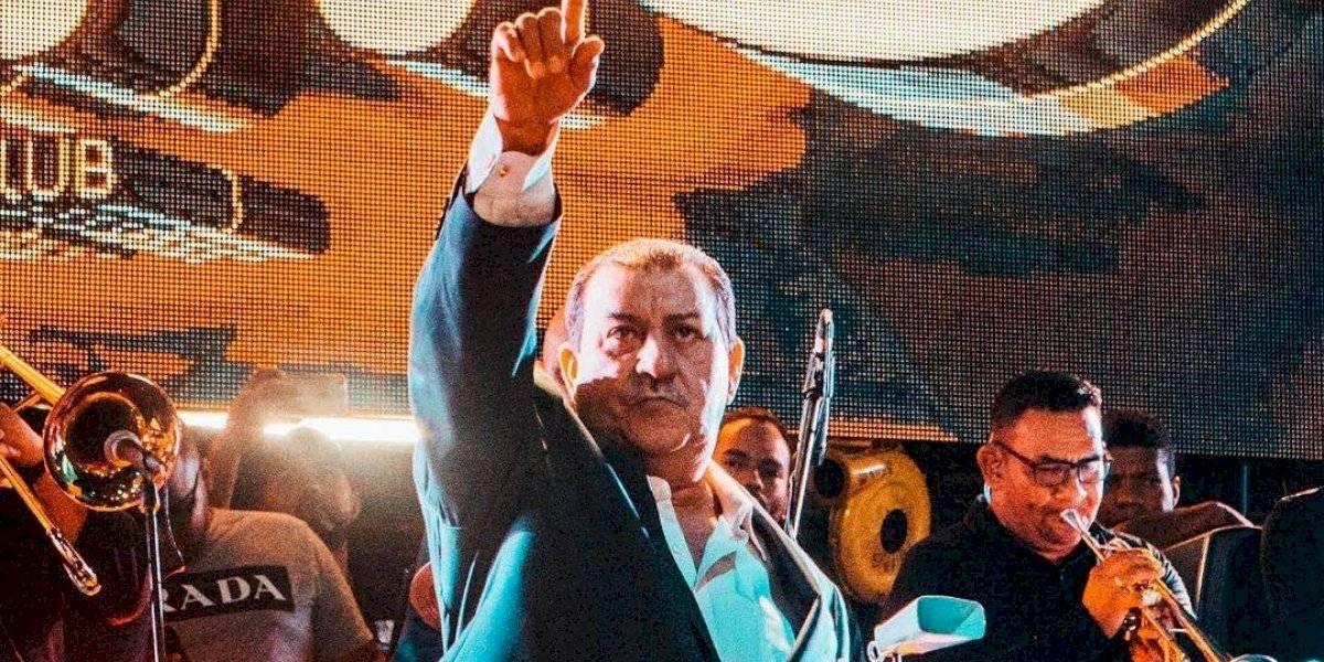 """Fallece a los 65 años Tito Rojas: """"el gallo de la salsa"""""""