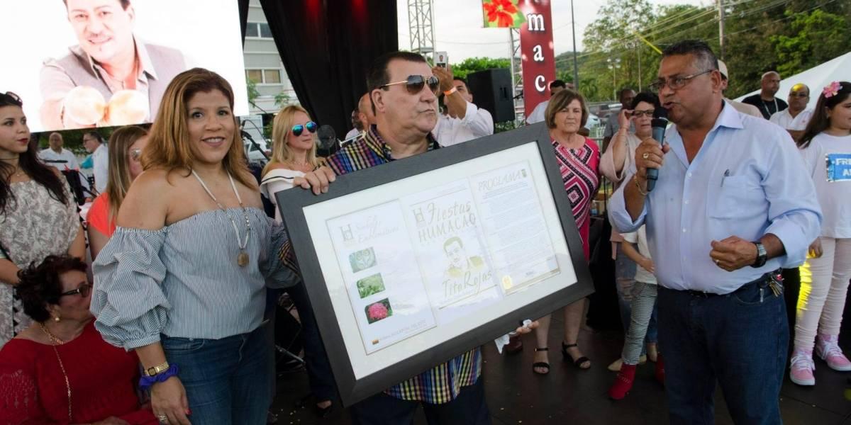 Alcalde de Humacao decreta cinco días de duelo por el fallecimiento de Tito Rojas