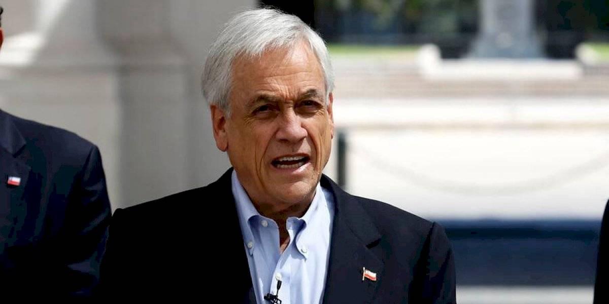 """Piñera firma proyecto para combatir contra el crimen organizado: """"Estamos en un punto de inflexión"""""""