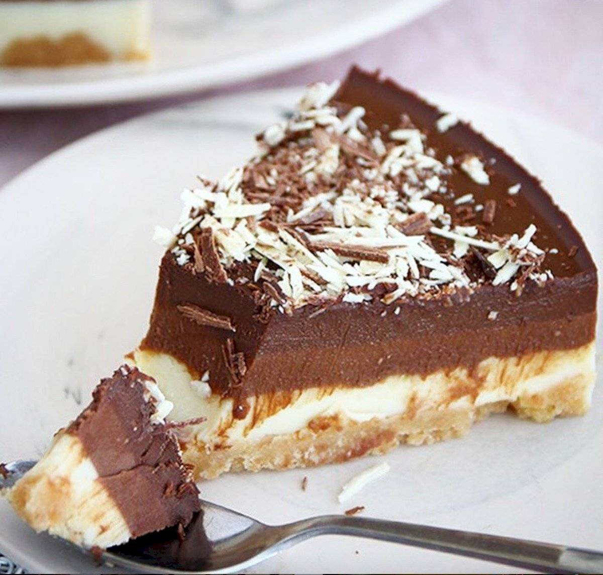 torta a los 3 chocolates